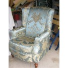 Vintage Wingback Chair XIII